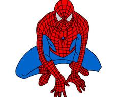 Человека-паук раскраски