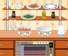 Готовим пасту на кухне