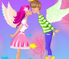 Поцелуй ангела картинка