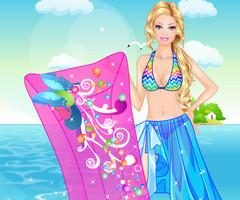 Одевалка: отдых на пляже