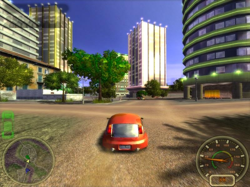 играть онлайн городской гонщик