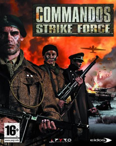 Обложка Commandos: Strike Force