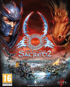 Обложка Sacred 2: Ice & Blood