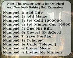 скачать читы на Overlord 2 - фото 8
