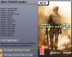Трейнер для Call of Duty: Modern Warfare 2