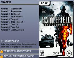 Трейнер для Battlefield: Bad Company 2