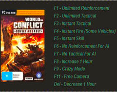 Трейнер для World in Conflict