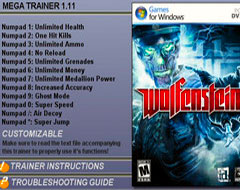 трейнер для Wolfenstein скачать - фото 11