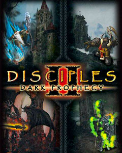Обложка Disciples 2: Dark Prophecy