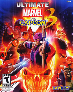 Обложка Ultimate Marvel vs. Capcom 3