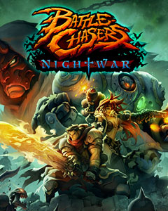Обложка Battle Chasers: Nightwar