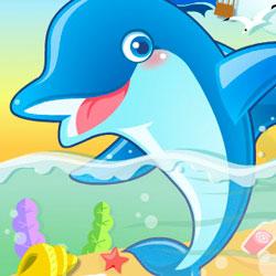 дельфинчик игра