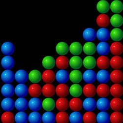 цветные шарики играть онлайн