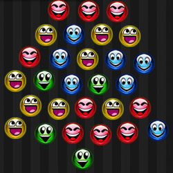 Одинаковые по цвету шарики