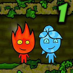 Игра Огонь и Вода в Лесном Храме 1 - играть онлайн бесплатно