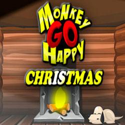 Счастливая обезьянка: Рождество